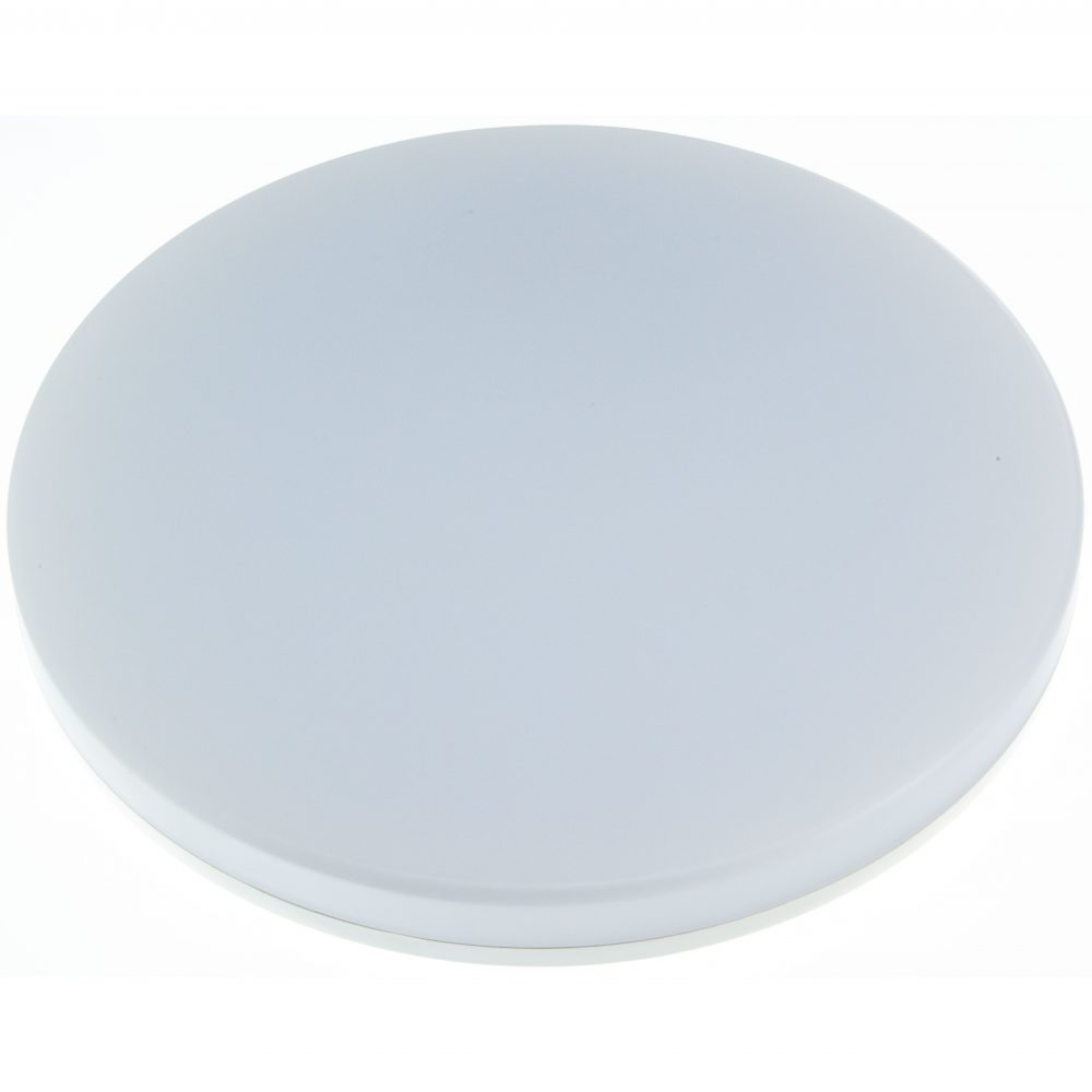 Aplica LED rotunda HEPOL, aparent/PT, 24W, IP54, lumina rece