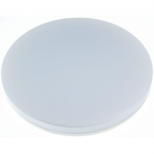 Aplica LED rotunda HEPOL, aparent/PT, 24W, IP54, lumina rece