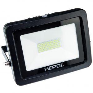 Proiector LED HEPOL, APOLLO, IP65, 50W, negru, lumina verde