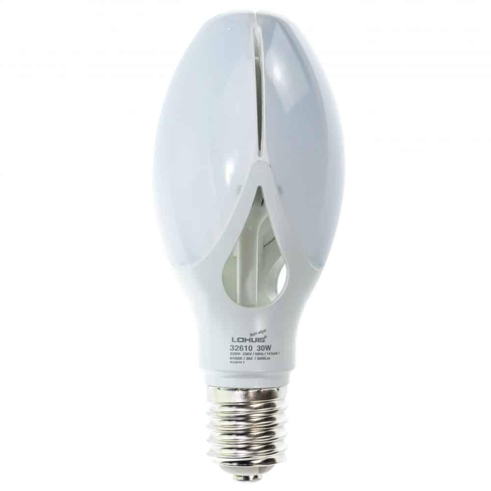 Bec LED LOHUIS FLOWER, E40, 30W, 25000 ore, lumina rece